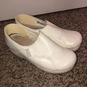 ✨PRICE DROP✨ White Dansko Nursing Shoes